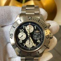 Breitling Superocean Chronograph Steelfish Stahl 44mm Schwarz Arabisch Deutschland, Bonn