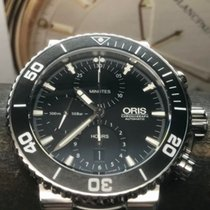Oris Aquis Chronograph pre-owned 46mm Chronograph Steel