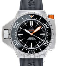 Omega Seamaster PloProf Steel 48mm Black