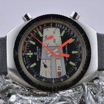 Breitling Chrono-Matic (submodel) Сталь 38mm Черный Без цифр