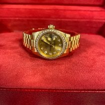 Rolex Lady-Datejust Yellow gold 26mm Champagne No numerals United Kingdom, LONDON