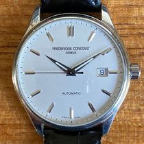 Frederique Constant Classics Index Steel 40mm Silver No numerals