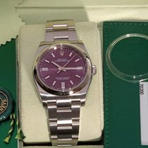 Rolex Oyster Perpetual 36 Steel 36mm Red Arabic numerals United States of America, Florida, Fort Lauderdale
