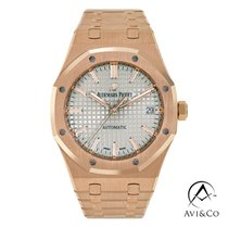 Audemars Piguet Royal Oak Selfwinding Rose gold 37mm Grey No numerals United States of America, New York, New York