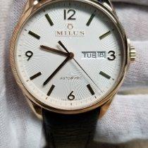Milus Tirion Roségull 40mm Hvit