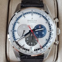 Zenith El Primero 36'000 VpH Steel Silver No numerals United States of America, New York, Brooklyn