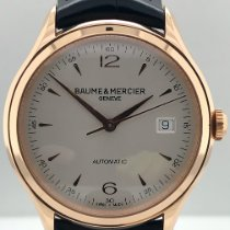 Baume & Mercier Clifton Rose gold 39mm Silver Arabic numerals United States of America, New York, New York