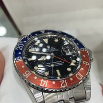 Rolex GMT-Master Steel 40mm Black No numerals United States of America, New York, New York