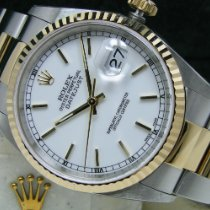 Rolex Datejust Gold/Steel 36mm White No numerals United States of America, Pennsylvania, HARRISBURG