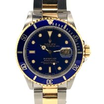 Rolex 16613 Gold/Steel 1990 Submariner Date 40mm pre-owned United States of America, New York, New York