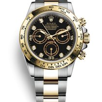 Rolex Daytona Gold/Steel 40mm Black No numerals Australia, Parramatta