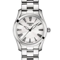 Tissot T-Wave Steel 30mm Mother of pearl Roman numerals United States of America, Massachusetts, Florence