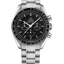 Omega Speedmaster Professional Moonwatch Steel 42mm Black No numerals Malaysia