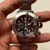 Jaeger-LeCoultre Titan Automatik Schwarz Arabisch 44mm gebraucht Master Compressor Diving Chronograph