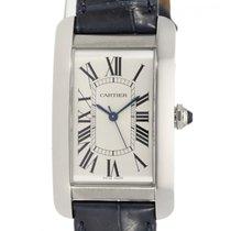 Cartier Tank Américaine neu 2020 Automatik Uhr mit Original-Box und Original-Papieren WSTA0018