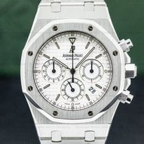 Audemars Piguet Royal Oak Chronograph Steel 40mm White Arabic numerals United States of America, Massachusetts, Boston