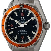 Omega Seamaster Planet Ocean Steel 42mm Black Arabic numerals United States of America, Texas, Austin