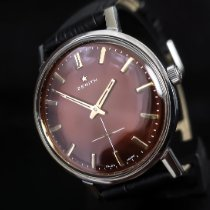 Zenith Steel 36mm Manual winding pre-owned