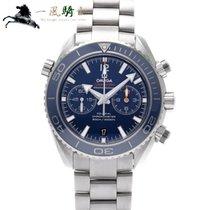 Omega 232.90.46.51.03.001 Titane Seamaster Planet Ocean Chronograph 45.5mm nouveau
