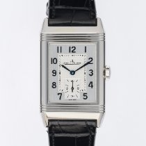 Jaeger-LeCoultre Reverso Classic Small Stahl 45.6mm Silber Arabisch