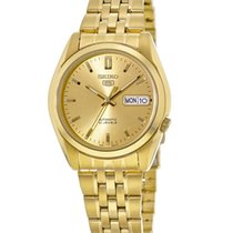 Seiko 5 Gold/Steel Gold No numerals United States of America, New York, Brooklyn
