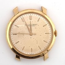 IWC Yellow gold Automatic Champagne 37mm pre-owned