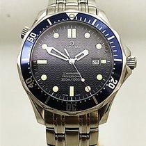 Omega Seamaster Diver 300 M подержанные 41mm Синий Дата Сталь