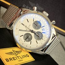 Breitling Transocean Chronograph Acier Argent France, Caen