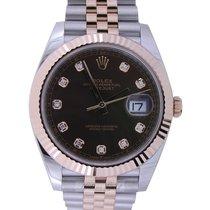 Rolex Datejust II Oro rosa 41mm Marrón