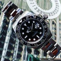 Rolex GMT-Master II Acier 40mm Noir Sans chiffres France, Caen