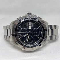 TAG Heuer pre-owned Automatic 43mm Black Sapphire crystal 30 ATM