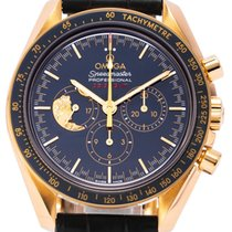 Omega Or jaune Remontage automatique 42mm occasion Speedmaster Professional Moonwatch