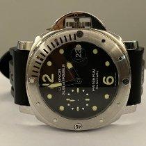 Panerai Luminor Submersible occasion 44mm Noir Caoutchouc