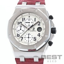 Audemars Piguet Royal Oak Offshore Chronograph Acier 42mm Blanc