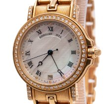 Breguet pre-owned Automatic 34 mmmm Mother of pearl Sapphire crystal 5 ATM