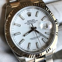 Rolex Datejust pre-owned 41mm Black Date Steel