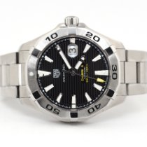 TAG Heuer Aquaracer 300M Steel 43mm Black No numerals United States of America, Florida, Aventura