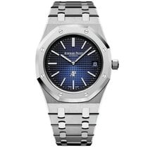 Audemars Piguet Titanium Automatic Blue No numerals 39mm new Royal Oak Jumbo