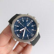 IWC Aquatimer Chronograph Acero 44mm Azul Sin cifras
