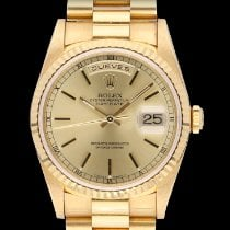 Rolex Day-Date 36 18238 New Yellow gold 36mm Automatic