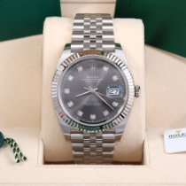 Rolex Datejust Steel 41mm Grey No numerals United States of America, California, Beverly Hills