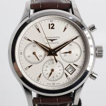 Longines Column-Wheel Chronograph Steel 41mm Silver United States of America, Arizona, Tucson