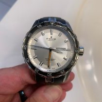 Edox Grand Ocean Steel 45mmmm White No numerals