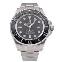 Rolex Sea-Dweller Deepsea Steel 44mm Black No numerals