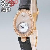 Breguet Damenuhr Reine de Naples 25mm Automatik gebraucht Nur Uhr