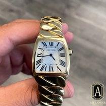 Cartier La Dona de Cartier Yellow gold Silver Roman numerals United States of America, California, Beverly Hills