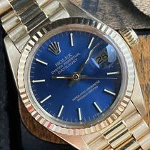 Rolex Lady-Datejust Oro amarillo 26mm Azul Sin cifras España, Madrid