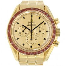 Omega Or jaune Remontage automatique Or Sans chiffres 42mm occasion Speedmaster Professional Moonwatch