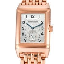 Jaeger-LeCoultre Reverso Duoface pre-owned 26mm GMT Rose gold