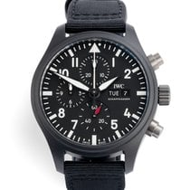 IWC Pilot Chronograph Top Gun Steel 44.5mm Black